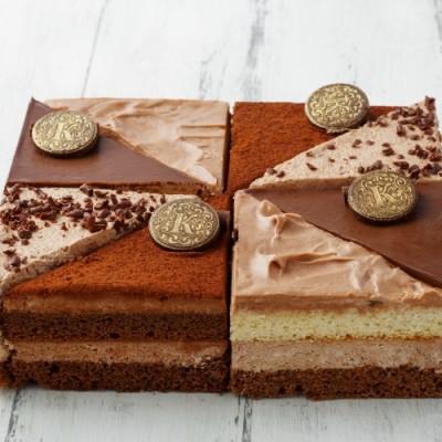 """Торт """"Шоколадная мозайка"""""""